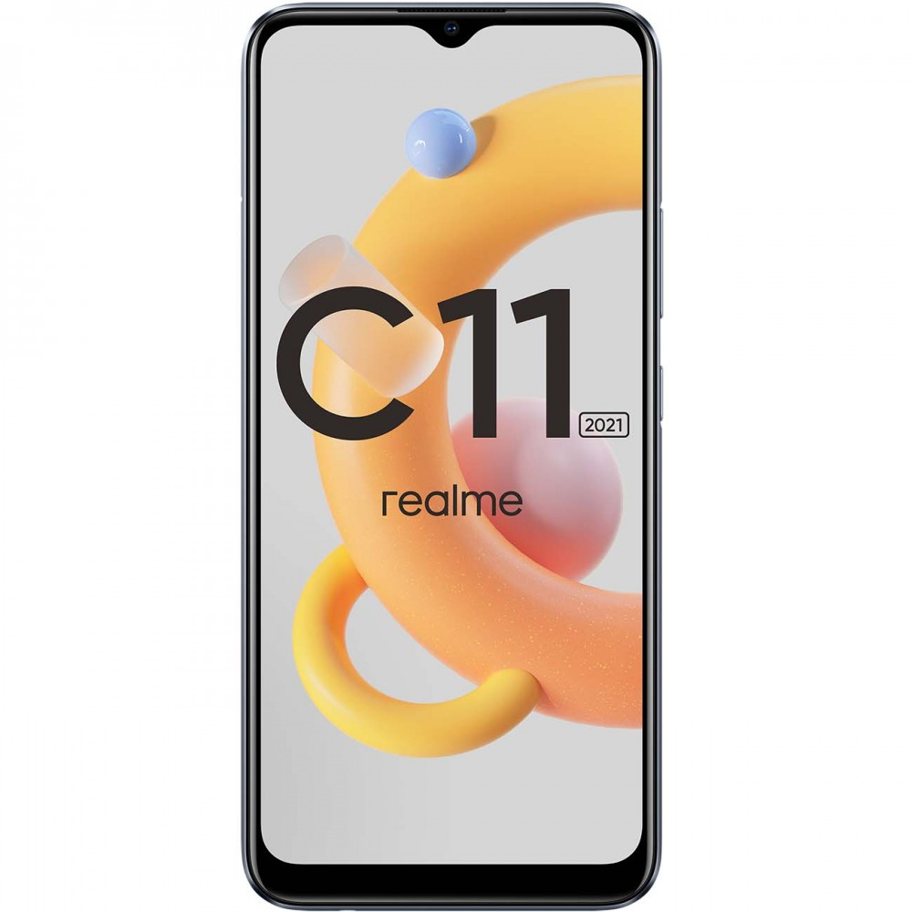 Смартфон realme C11 2021 2+32GB Iron Grey
