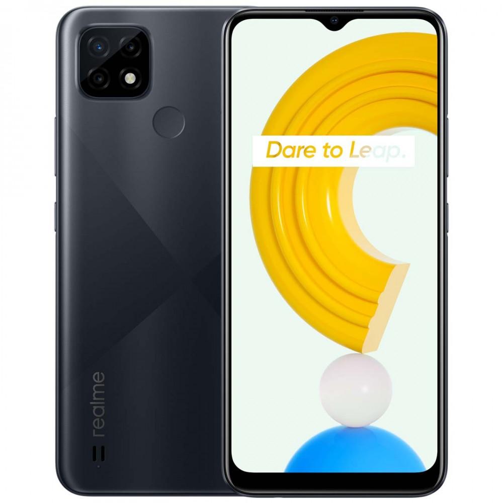 Смартфон realme C21 4+64GB Cross Black